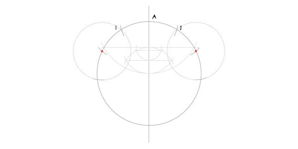 Hendecagon step 9