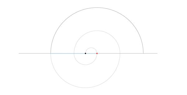 Regular spiral step 6