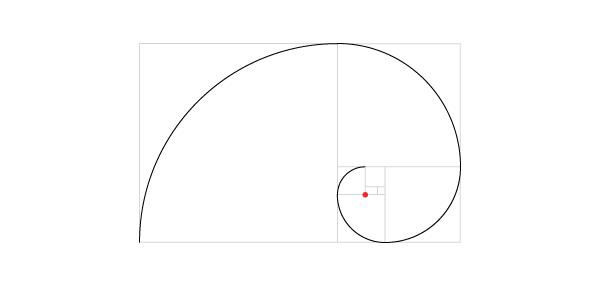 Golden spiral step 14
