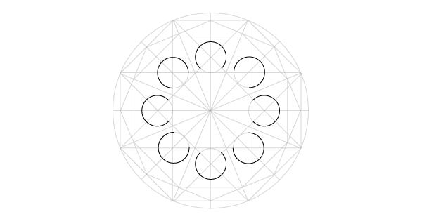 Geometric Design Working With Circles