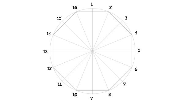 Rosette window step 6
