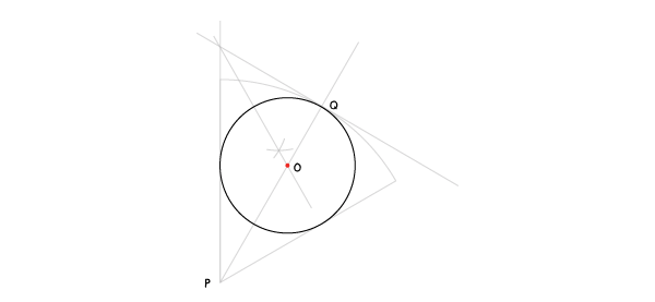 Circle in a sector step 11