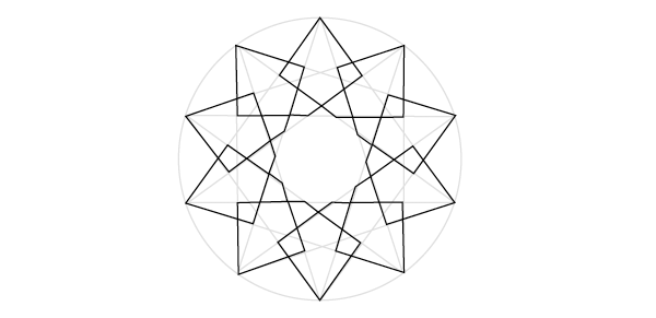Flat pattern 2