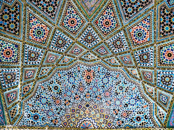 Ceiling of Nasr el Molk mosque