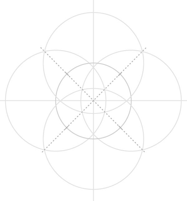 Armenian knot step 10