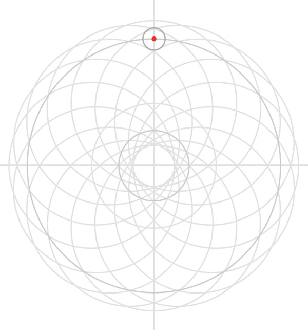 Armenian knot step 17
