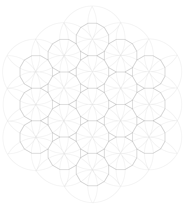 Pattern from the Cordoba Synagogue step 10