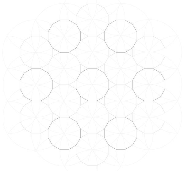 Pattern from the Cordoba Synagogue step 11