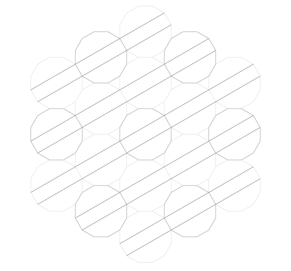 Pattern from the Cordoba Synagogue step 12