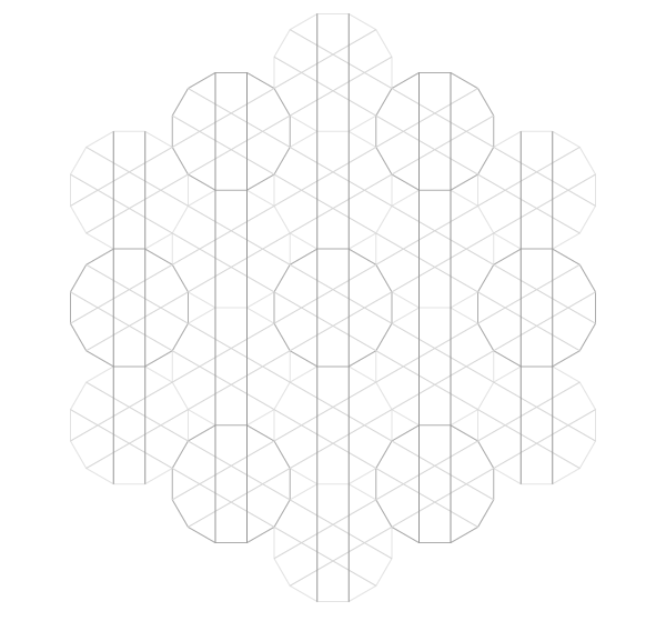 Pattern from the Cordoba Synagogue step 14