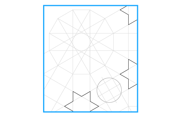 Pattern from the Cordoba Synagogue step 23