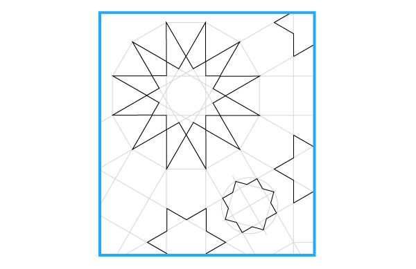 Pattern from the Cordoba Synagogue step 25