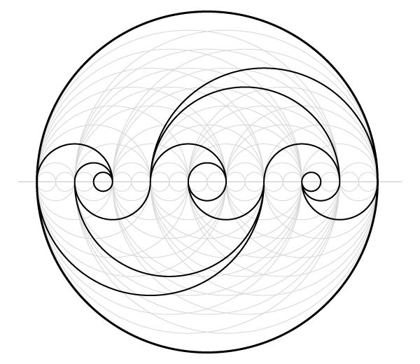 Finished motif 1
