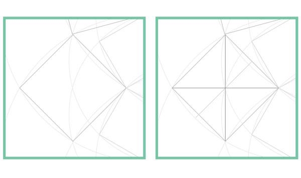 Harmonic pattern step 14
