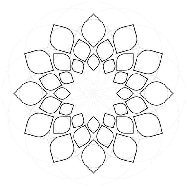 Harmonic pattern step 20