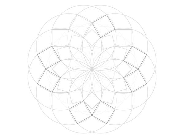 Harmonic pattern step 8