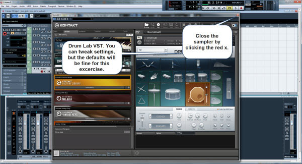 Tweak the Drum Lab VST