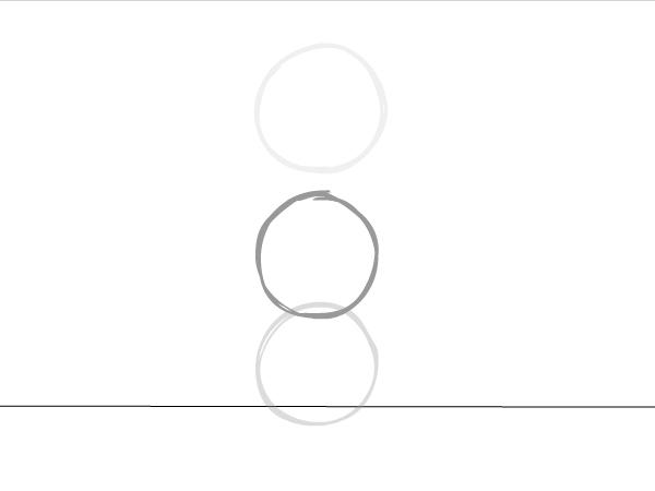 Между промежутками между поз1 и позой 2