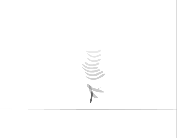 Feather animation further progress