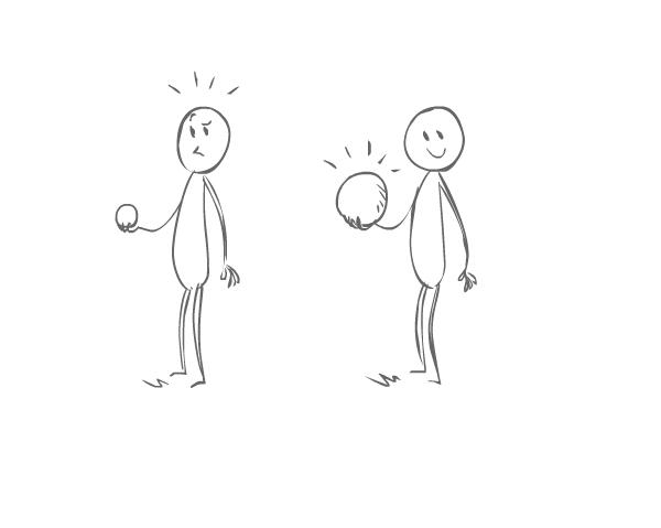 Позволяет иметь резиновый шар