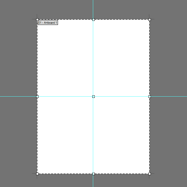 Draw horizontal and vertical guides