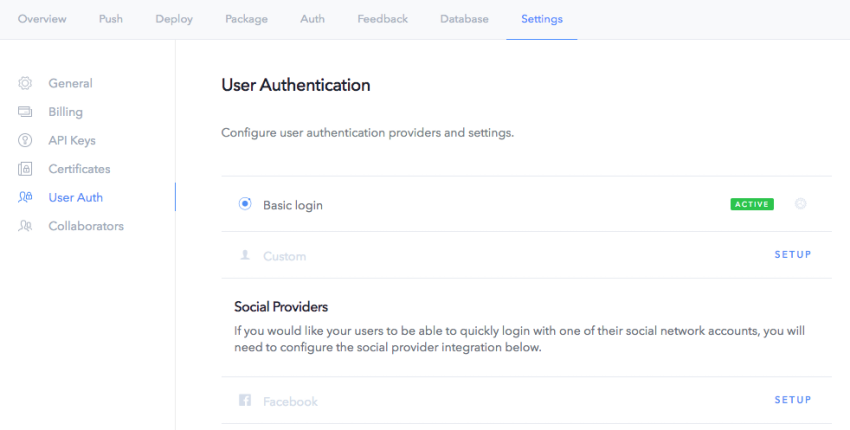 Get Started With Ionic Services: Auth