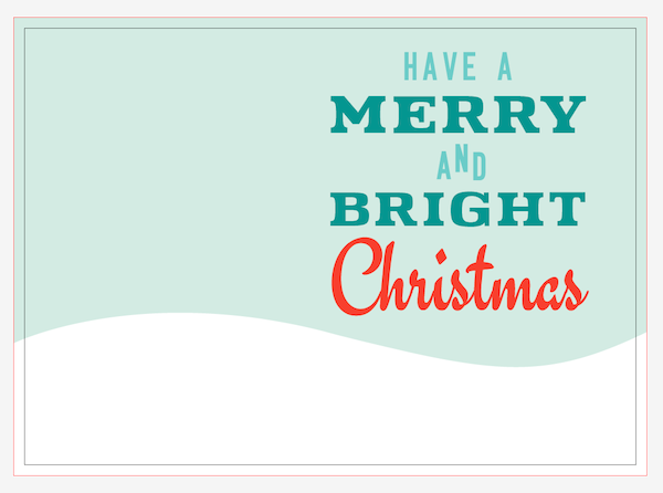Have a Merry and Bright Christmas