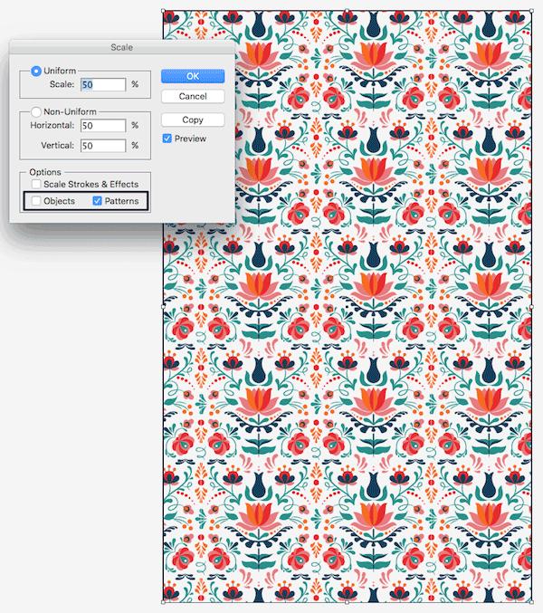 scaling pattern