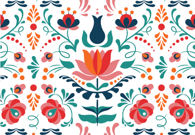 How to design a colorful hungarian folk art pattern in adobe illustrator thecheapjerseys Choice Image