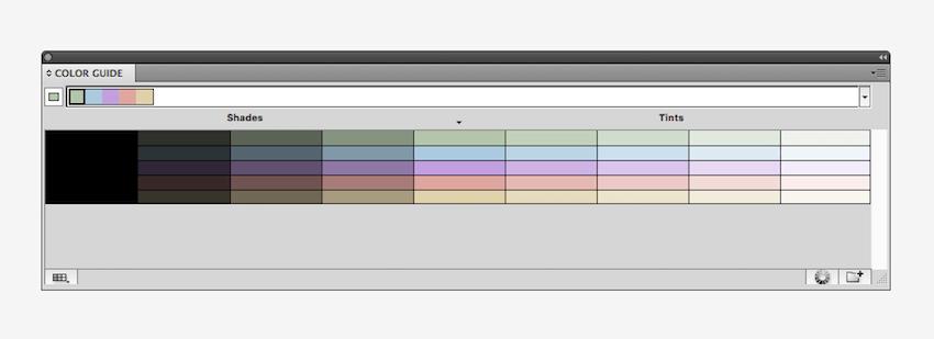 color guide in Illustrator