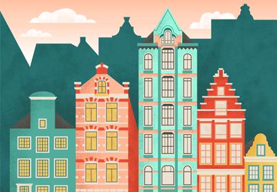 Amsterdam cityscape preview