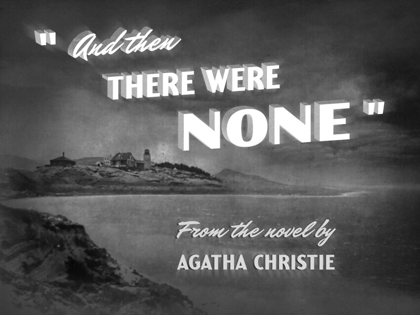 film noir title card