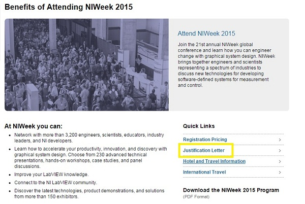 get training niweek 2015