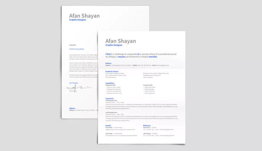 what is the best font for a resume   professional size  u0026 proper type for 2019