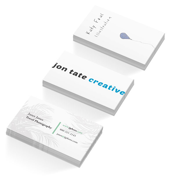 Get yourself noticed create a simple business card in indesign designbusinessadobe indesign final product image reheart Gallery