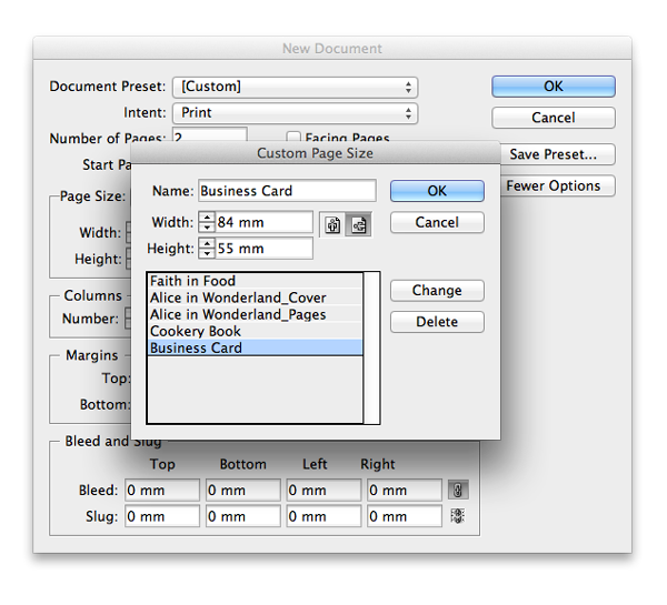 caret how to get indesign