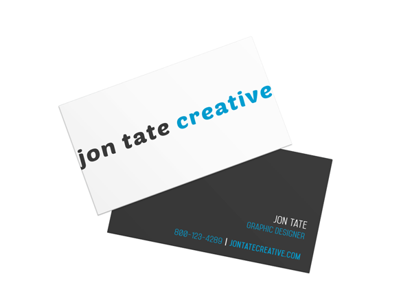 Get yourself noticed create a simple business card in indesign if youre an illustrator colourmoves