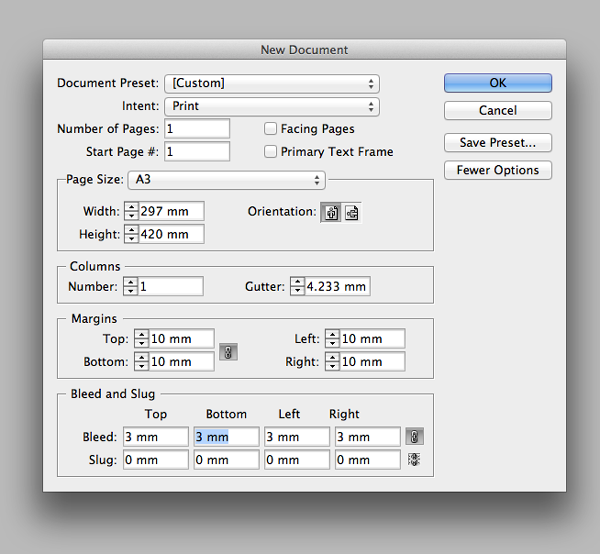how to create a keyline in indesign
