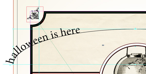 Curved Line Indesign : Design a victorian halloween poster in adobe indesign