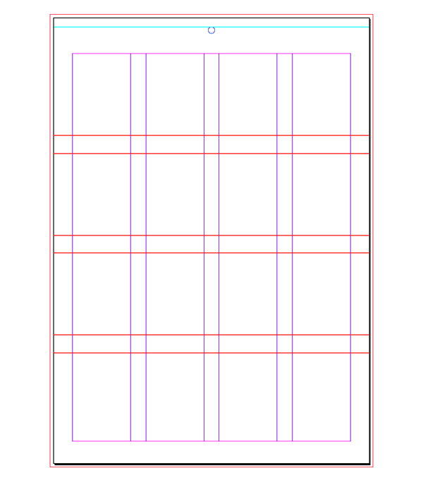 grid with guides