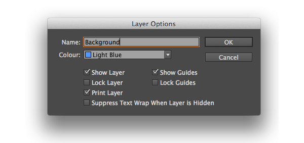 layer options background