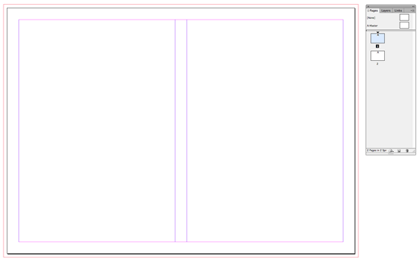 new document layout