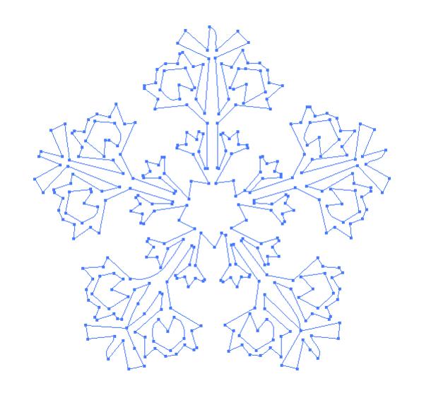 vector in white