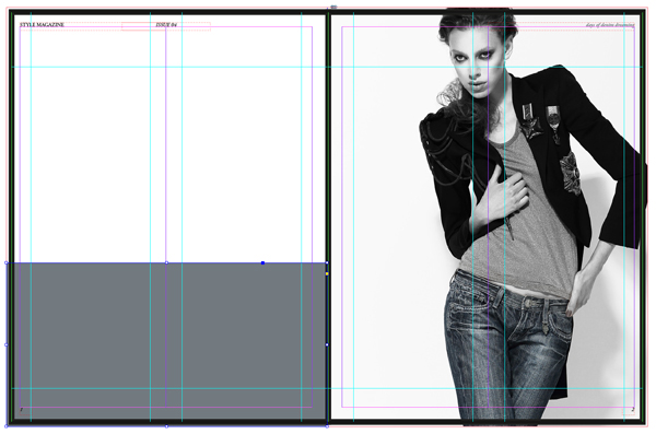 http://design.tutsplus.com/tutorials/how-to-create-layouts-for-a-fashion-magazine-in-adobe-indesign--cms-22860