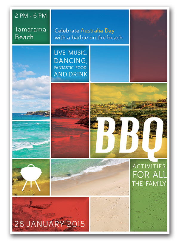 Create A BBQ Flyer To Celebrate Australia Day In Adobe