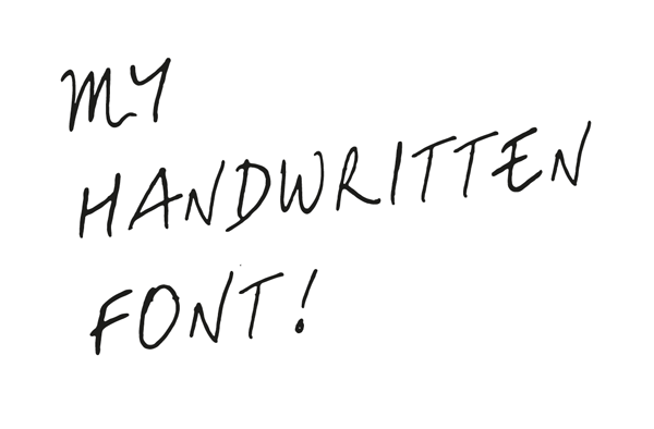 The Basics Of Drawing Type Creating Your Own Handwritten Font