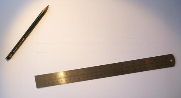 drawing baseline