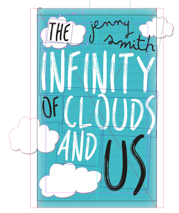 clouds on front cover