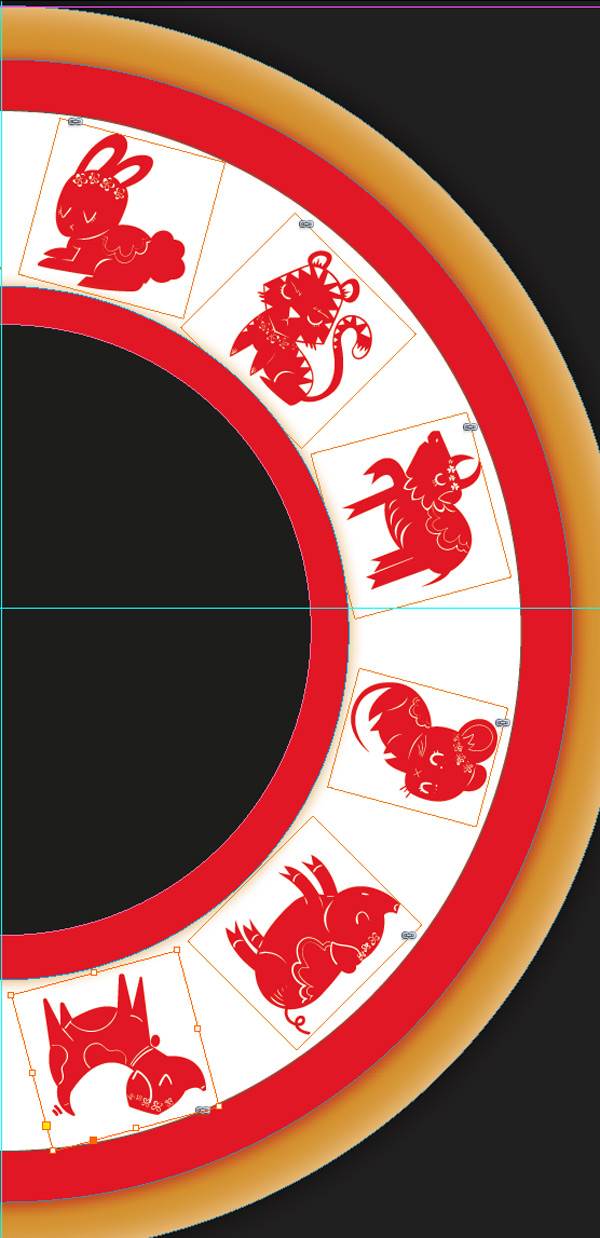 rotated zodiac images