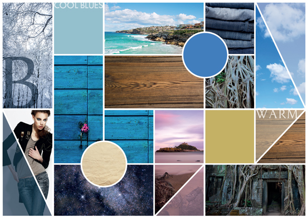Moodboard Erstellen create a design moodboard communicating color and texture in adobe